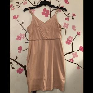 Dresses & Skirts - Dusty blush suede dress